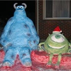 Monsters Inc, Mike and Sully