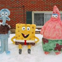 Sponge Bob, Patrick and Squidward